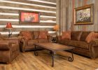 awesome home decor western living room ideas with brown leather sofa designs