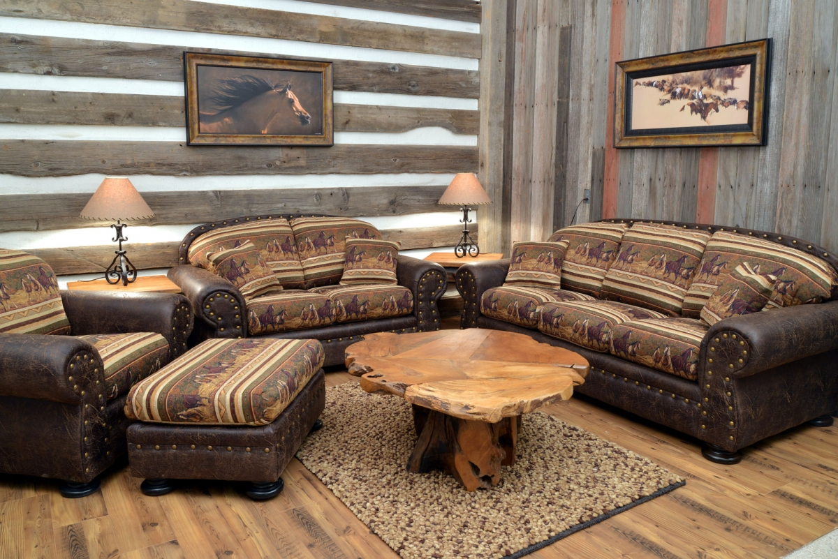 Amazing of western living room ideas with nice western for Country western living room ideas