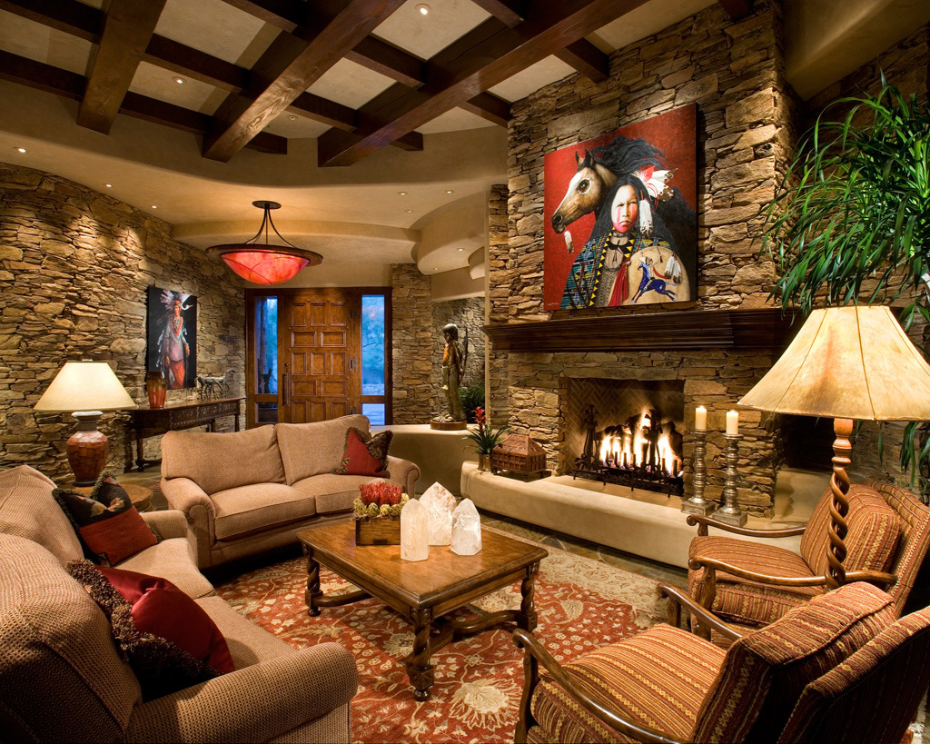 Western Living Room Decorating Ideas