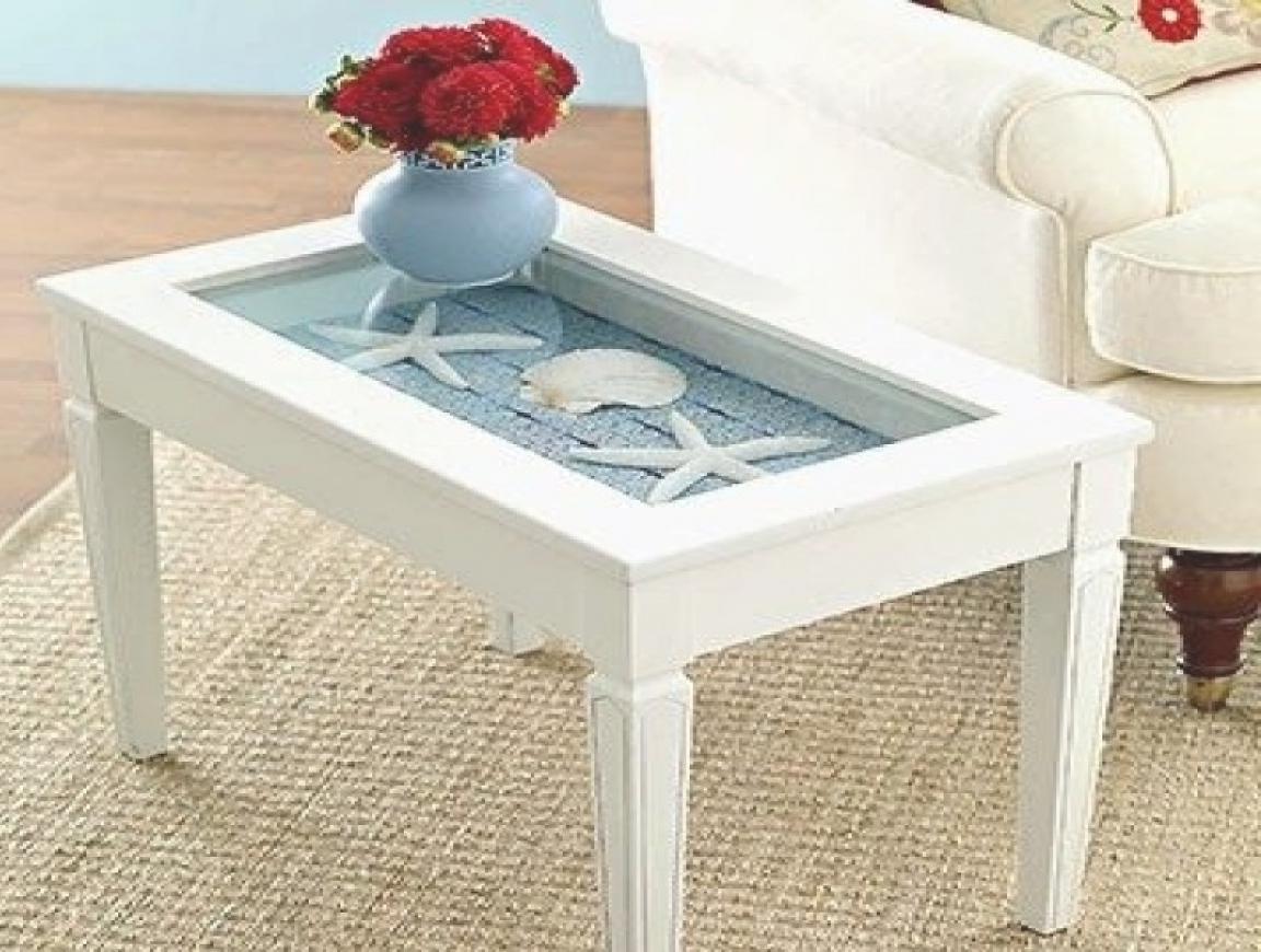 beach themed coffee table 23