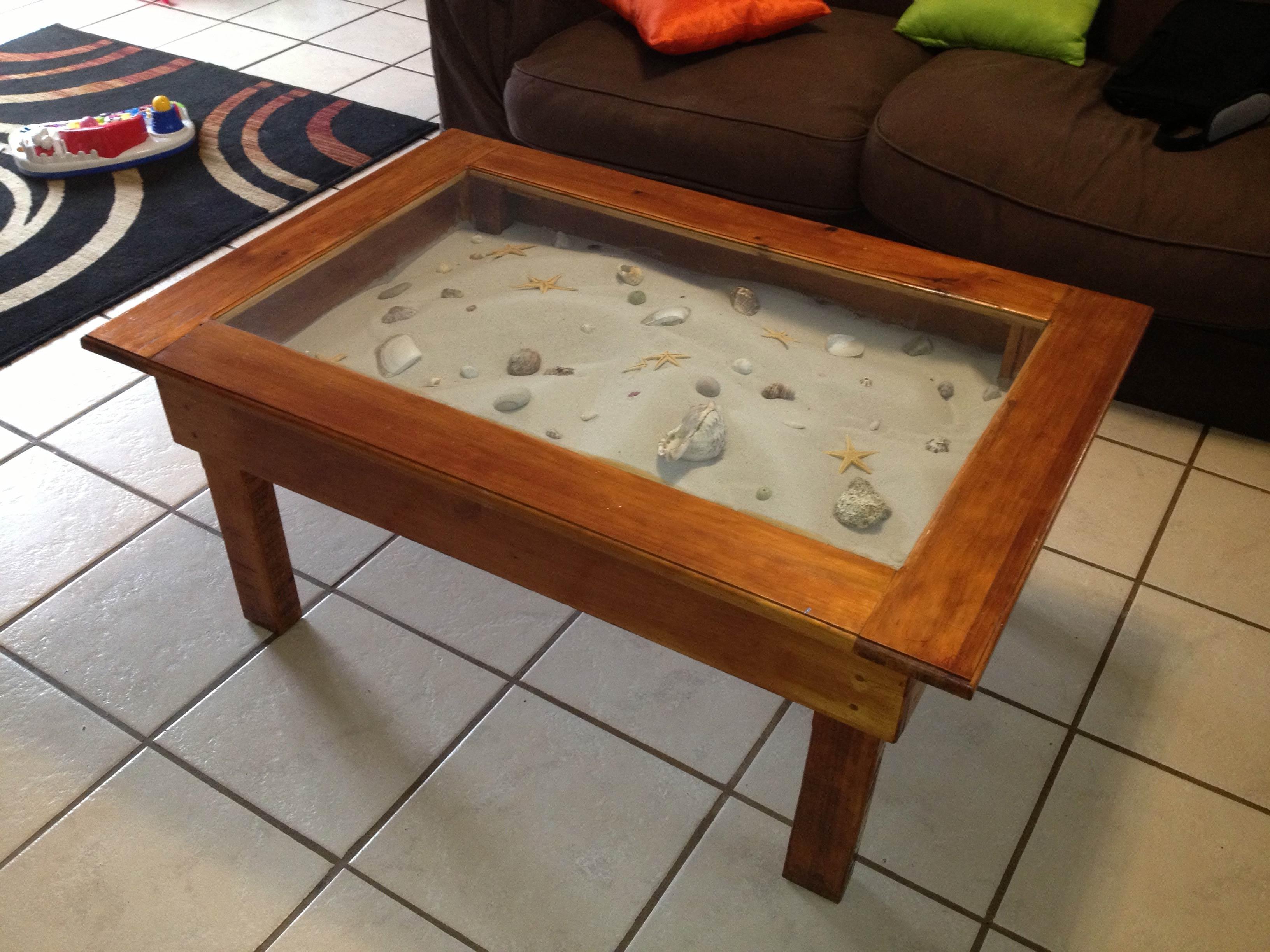 beach themed coffee table 28