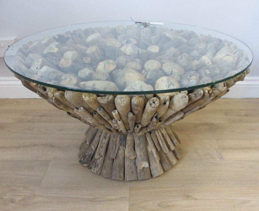 beach themed coffee table 29