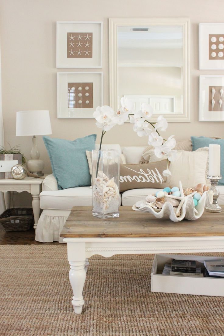 Beach Themed Coffee Table 32