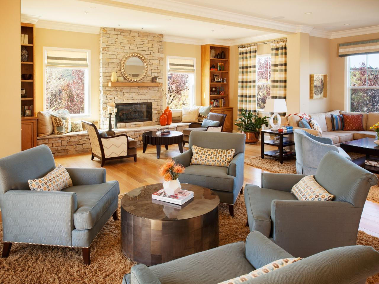 beautiful modern interior design for decorating living rooms ideas