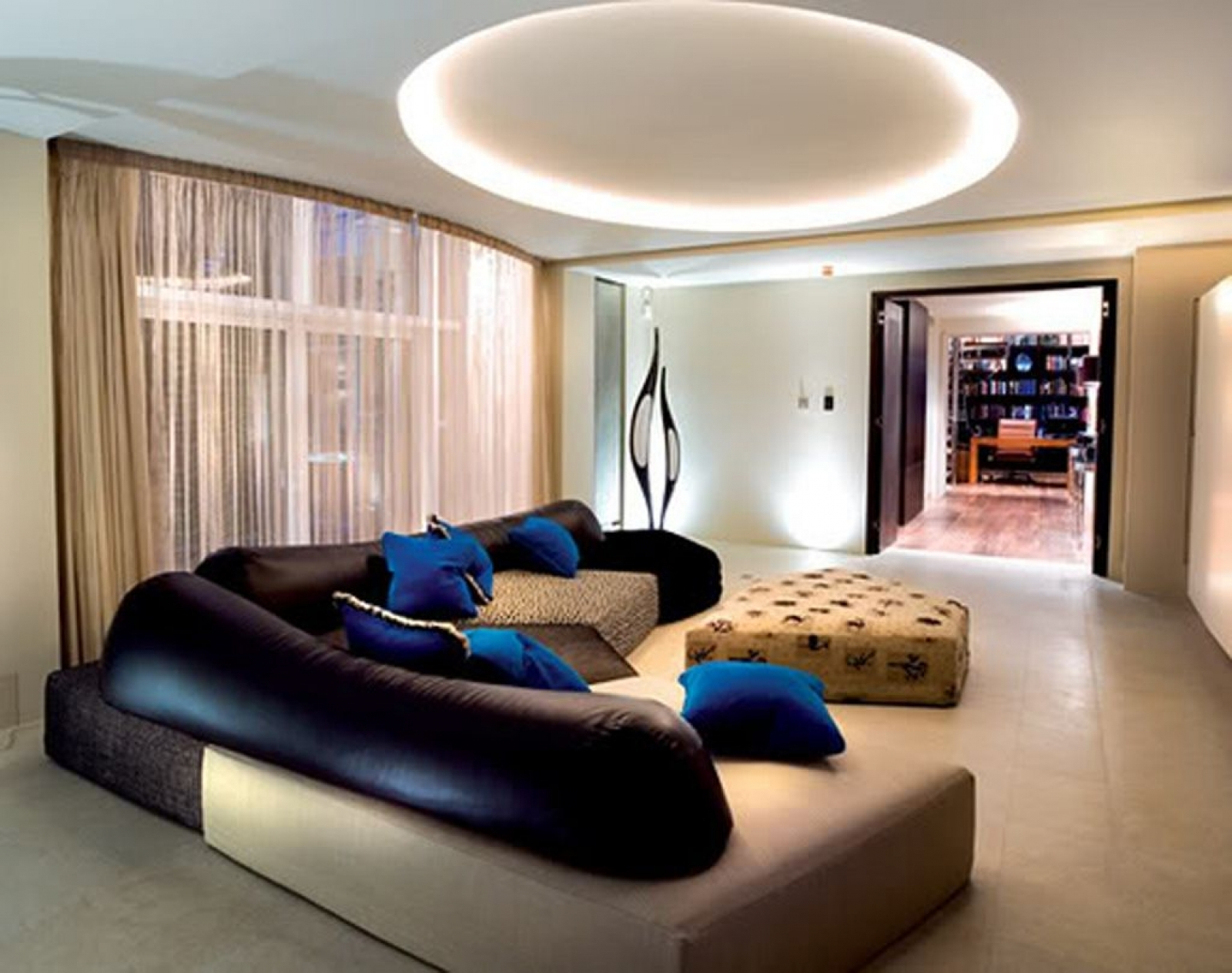 beautiful modern living room ceiling lighting ideas