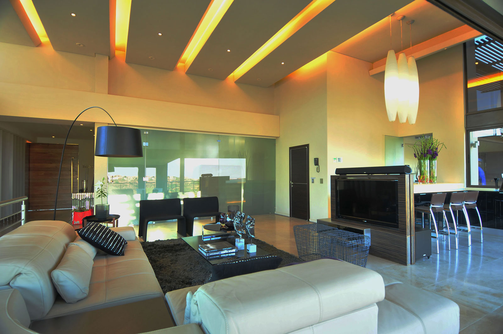 Modern living room lighting ideas for Living room lighting designs