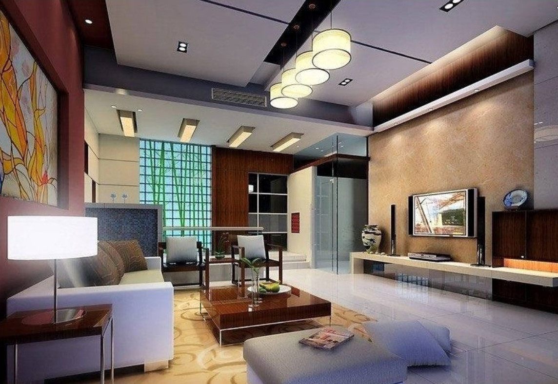 Living room lighting ideas on a budget roy home design for Modern living room lamps