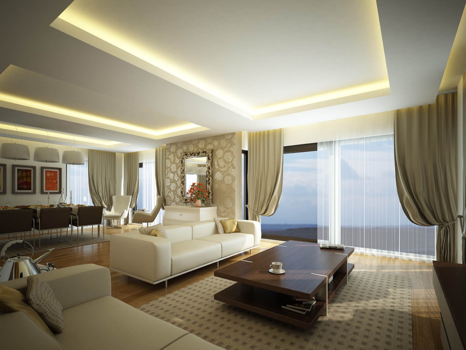 Living room lighting ideas on a budget roy home design for Ceiling lights for living room