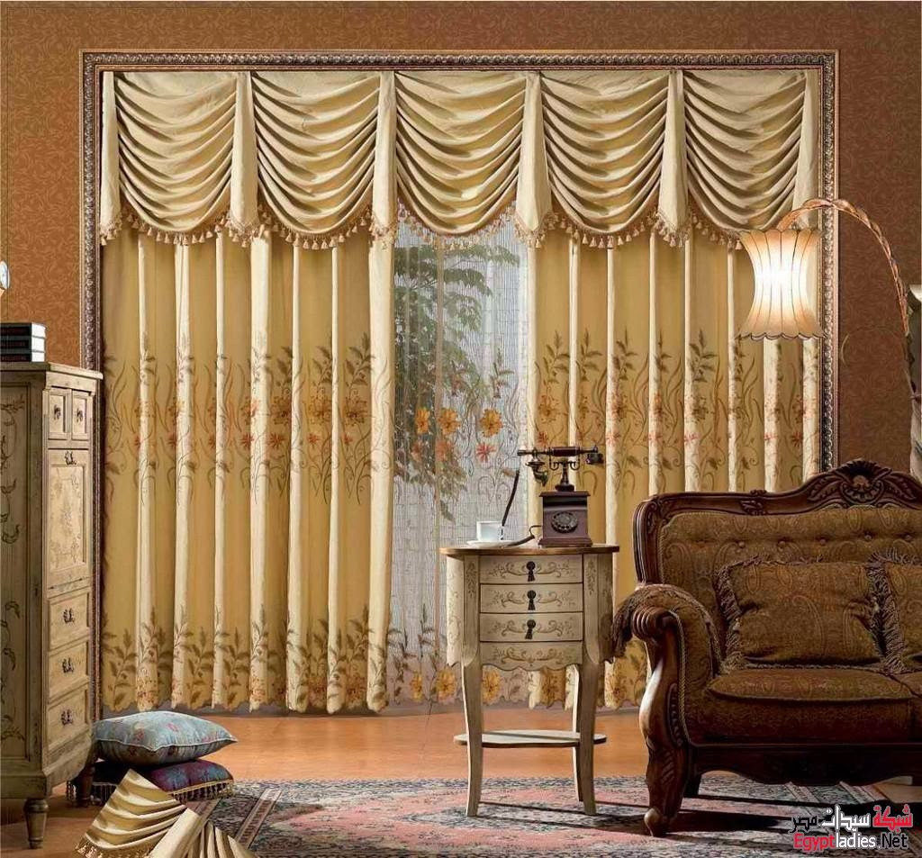 best luxury gold curtain pictures of living room