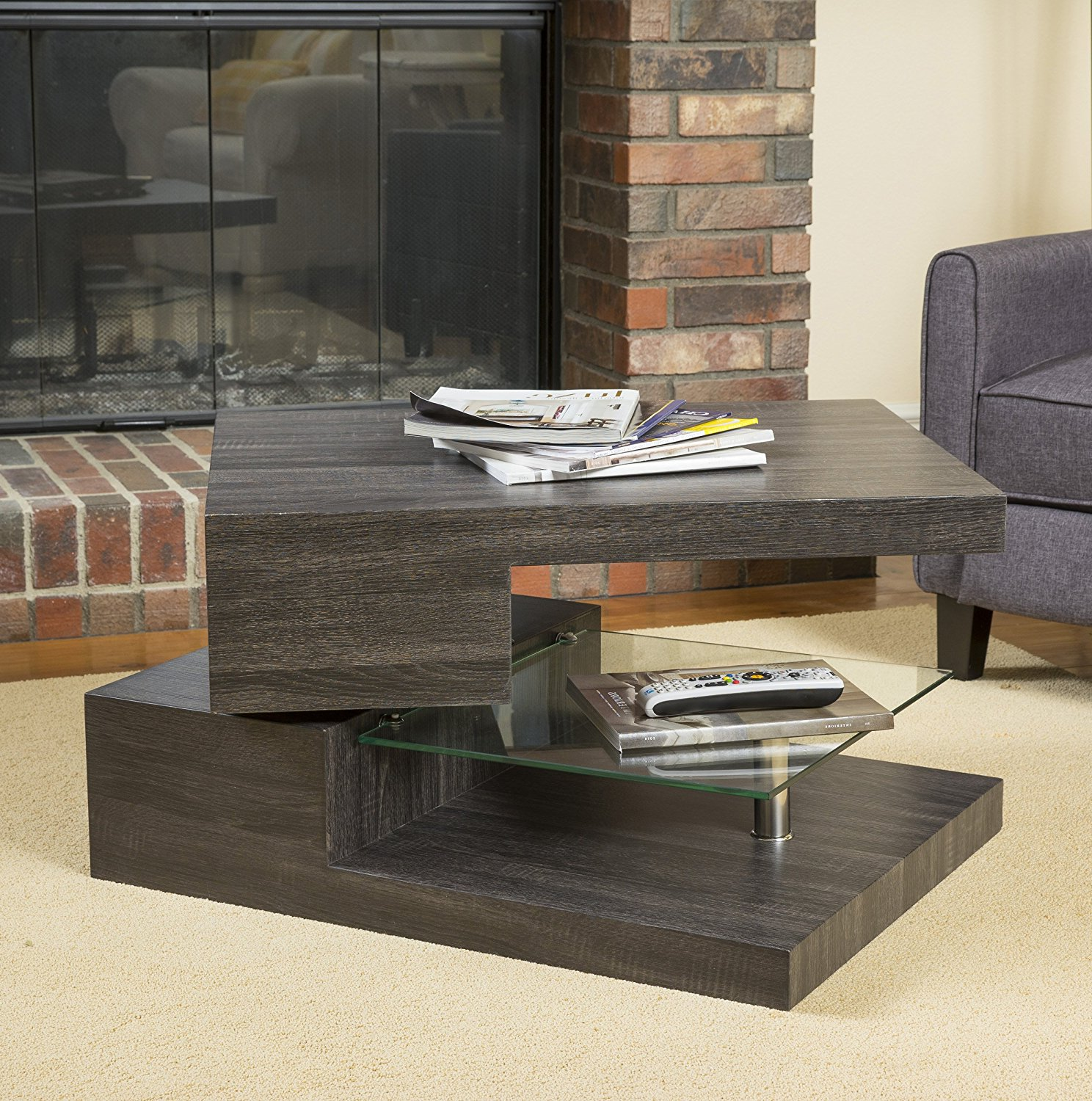 best modern glass coffee tables under $200