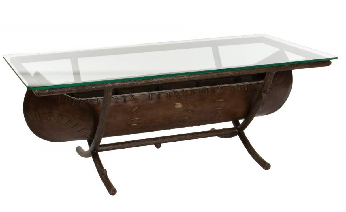 Canoe coffee table furniture roy home design canoe coffee table 11 canoe coffee table 08 geotapseo Gallery