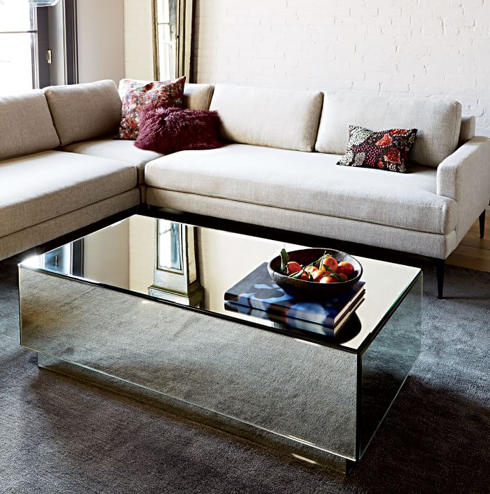 cheap mirrored coffee table 11