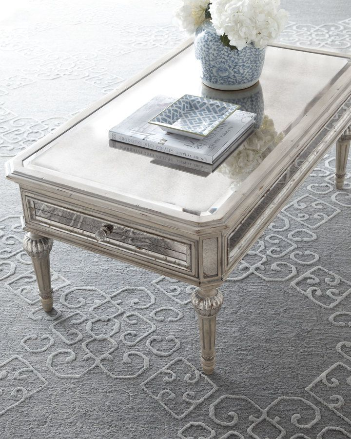 cheap mirrored coffee table furniture roy home design. Black Bedroom Furniture Sets. Home Design Ideas