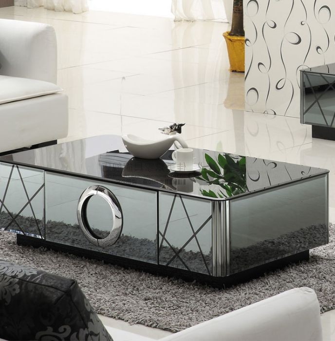cheap mirrored coffee table 15