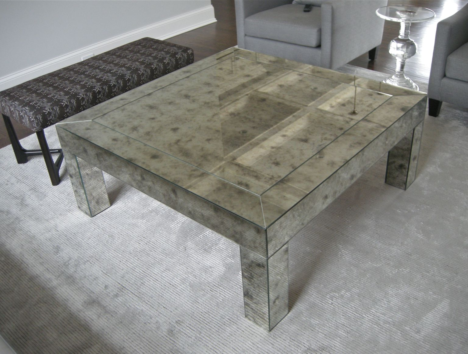 cheap mirrored coffee table 18