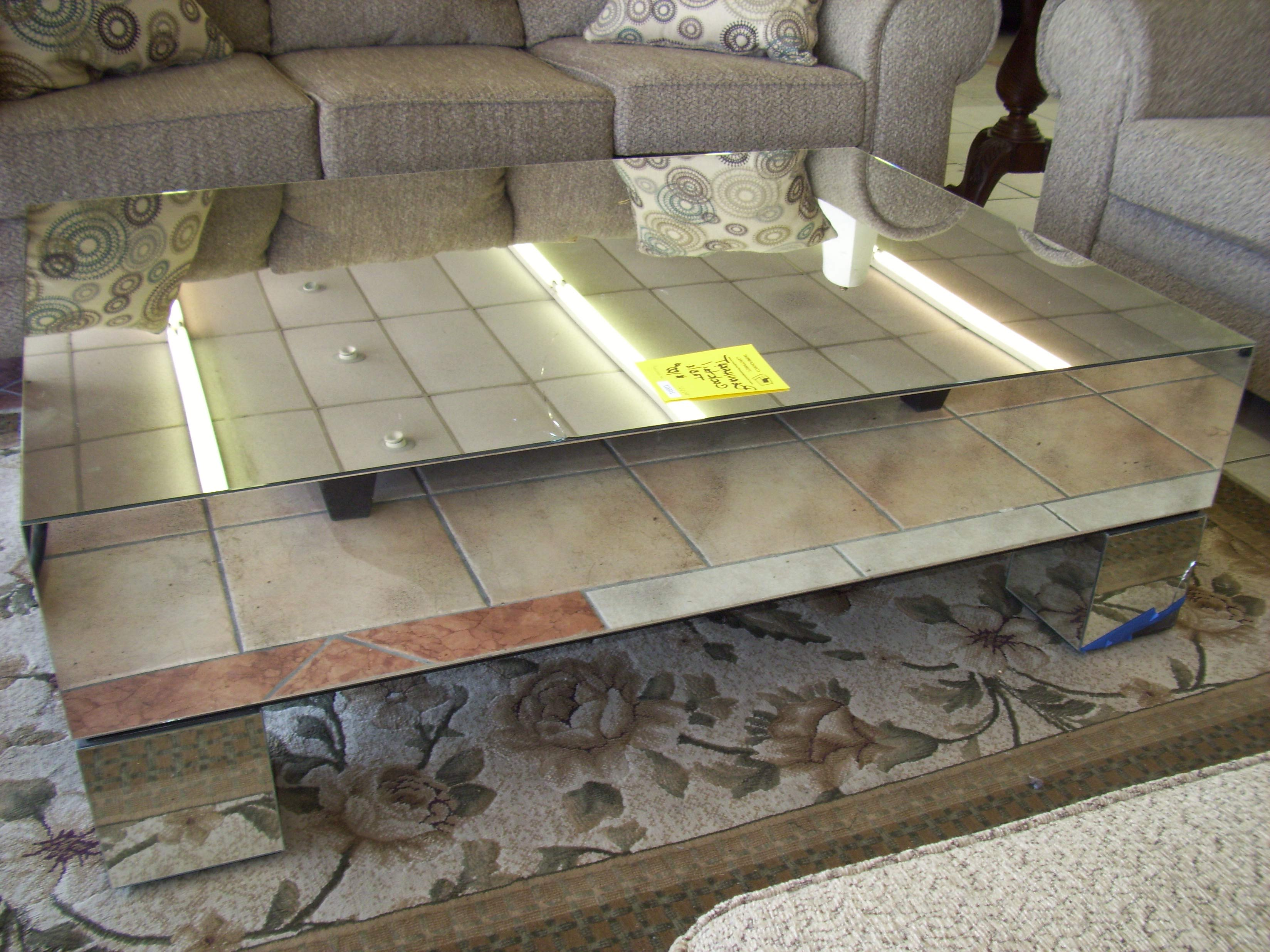 cheap mirrored coffee table 21