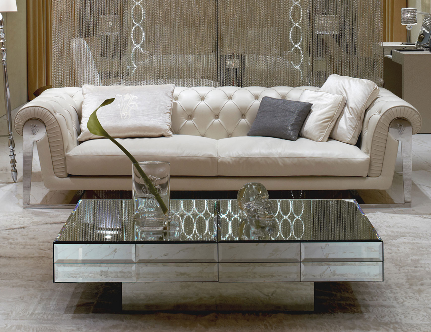 cheap mirrored coffee table 23