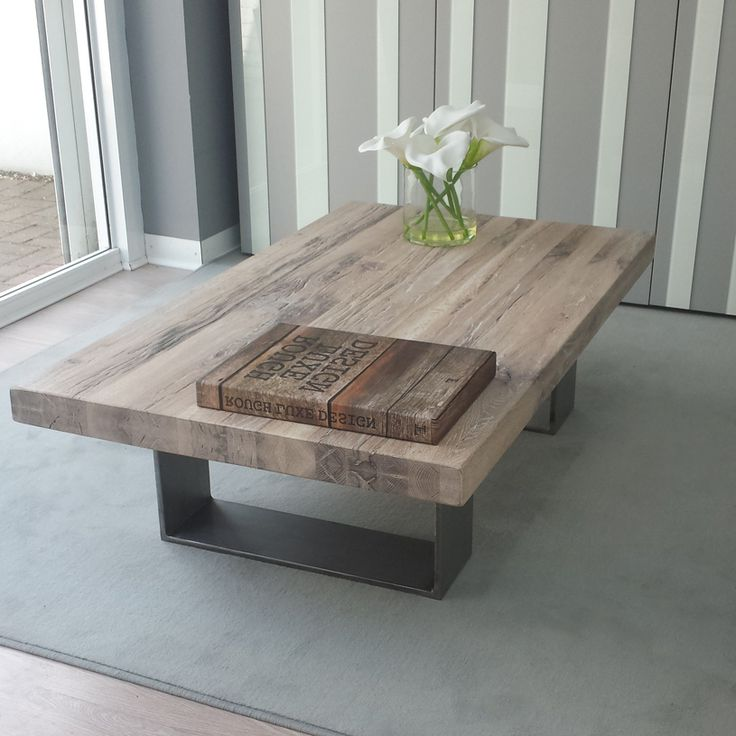 chrome and wood coffee table 20