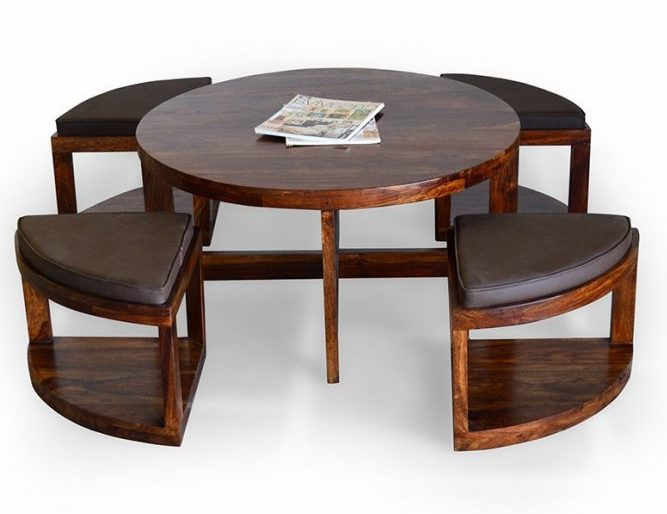coffee table with chairs underneath 07