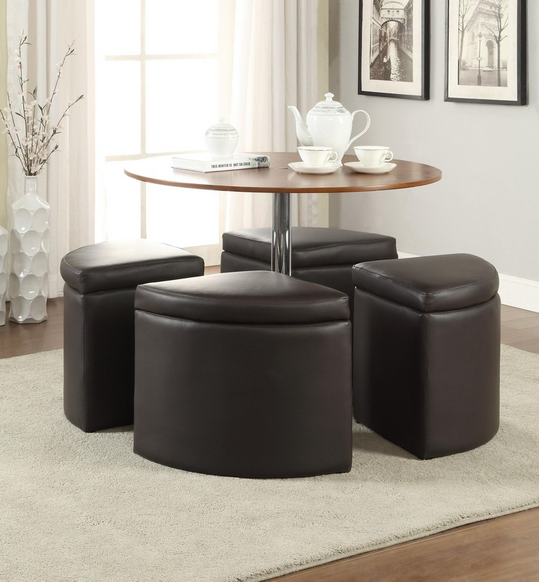 Coffee table with chairs underneath roy home design for Coffee table with stools underneath