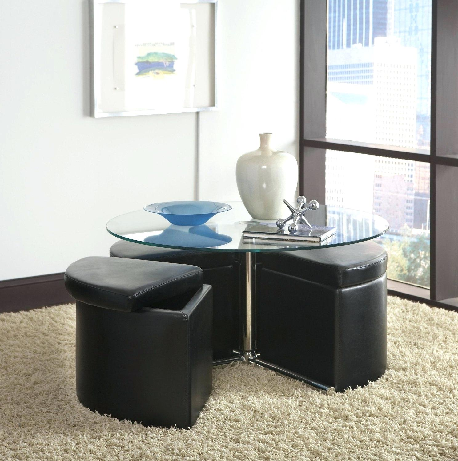 coffee table with chairs underneath 17