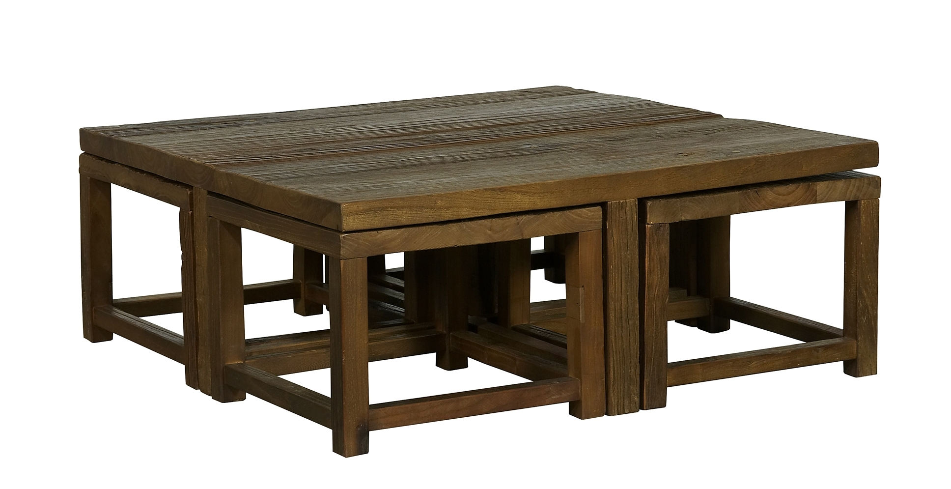 coffee table with chairs underneath 21