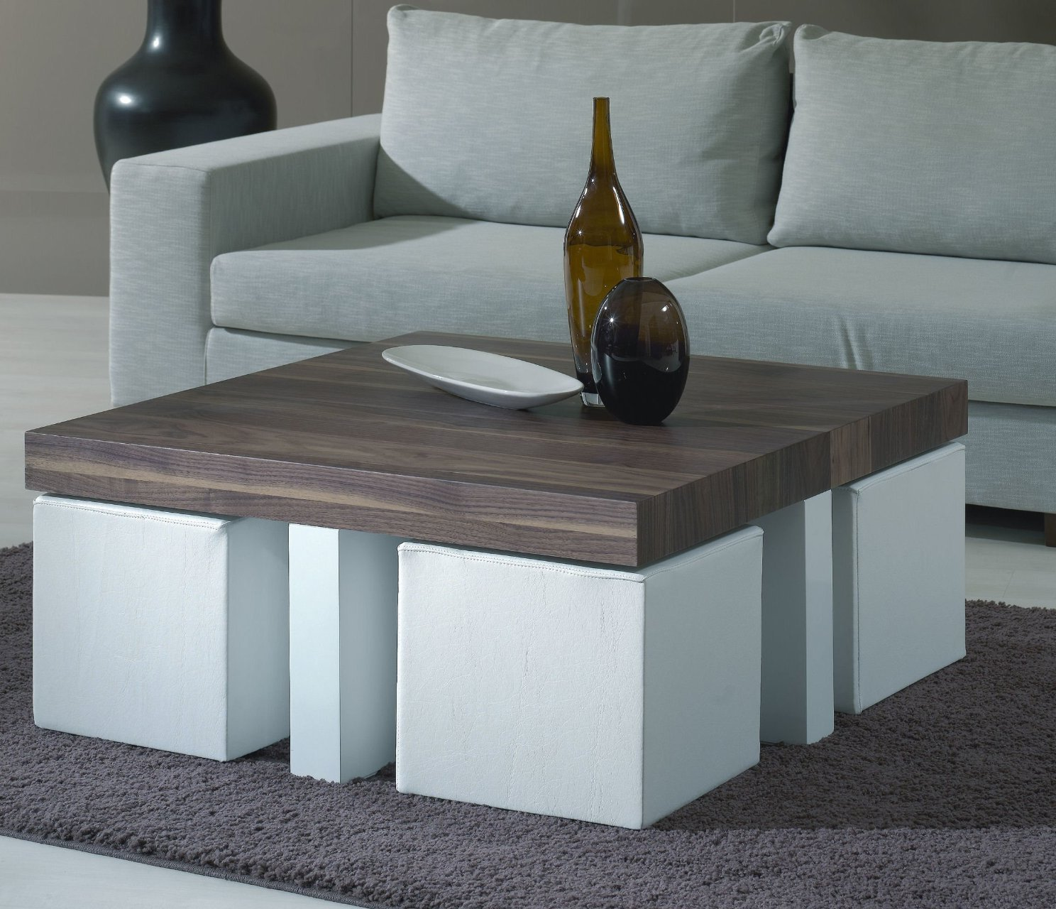 coffee table with chairs underneath 24