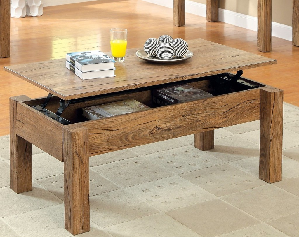 Coffee table with lift top ikea storage roy home design - Petite table basse relevable ...