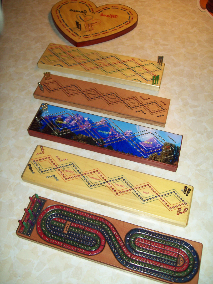 cribbage board coffee table 11