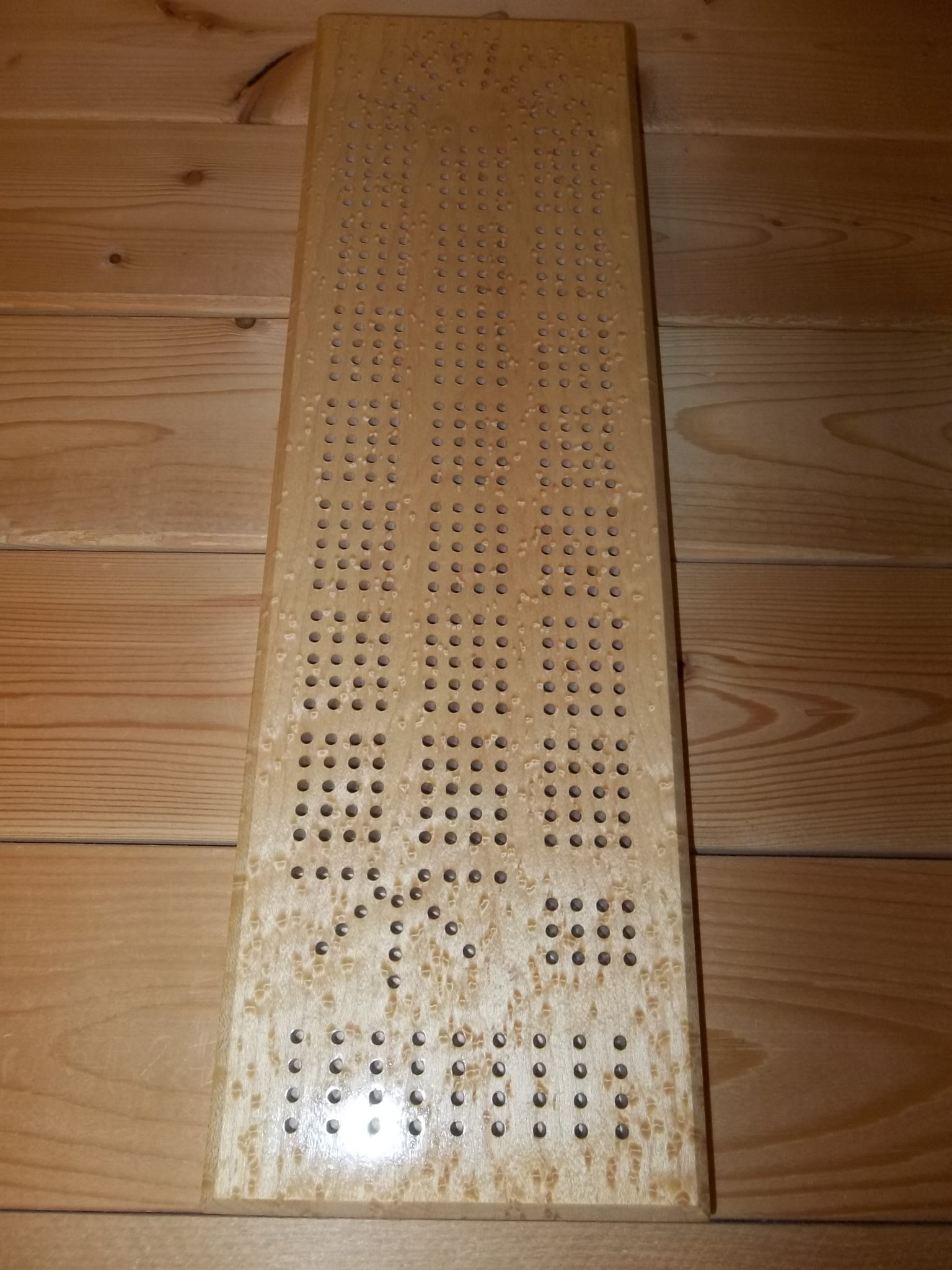 cribbage board coffee table 12