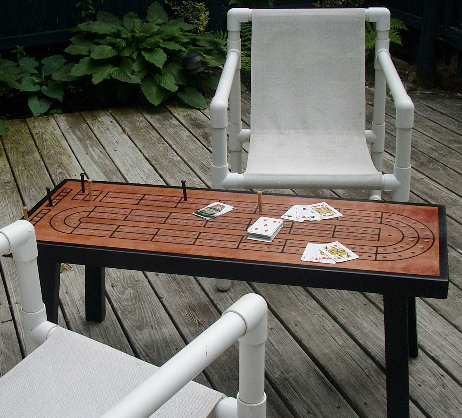 cribbage board coffee table 15