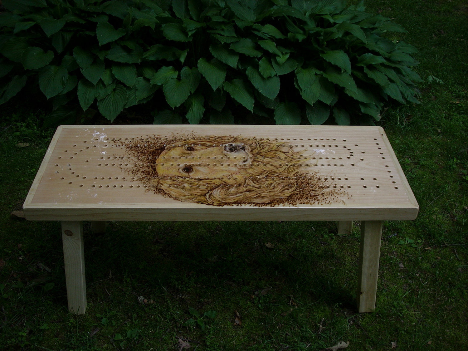 cribbage board coffee table 17