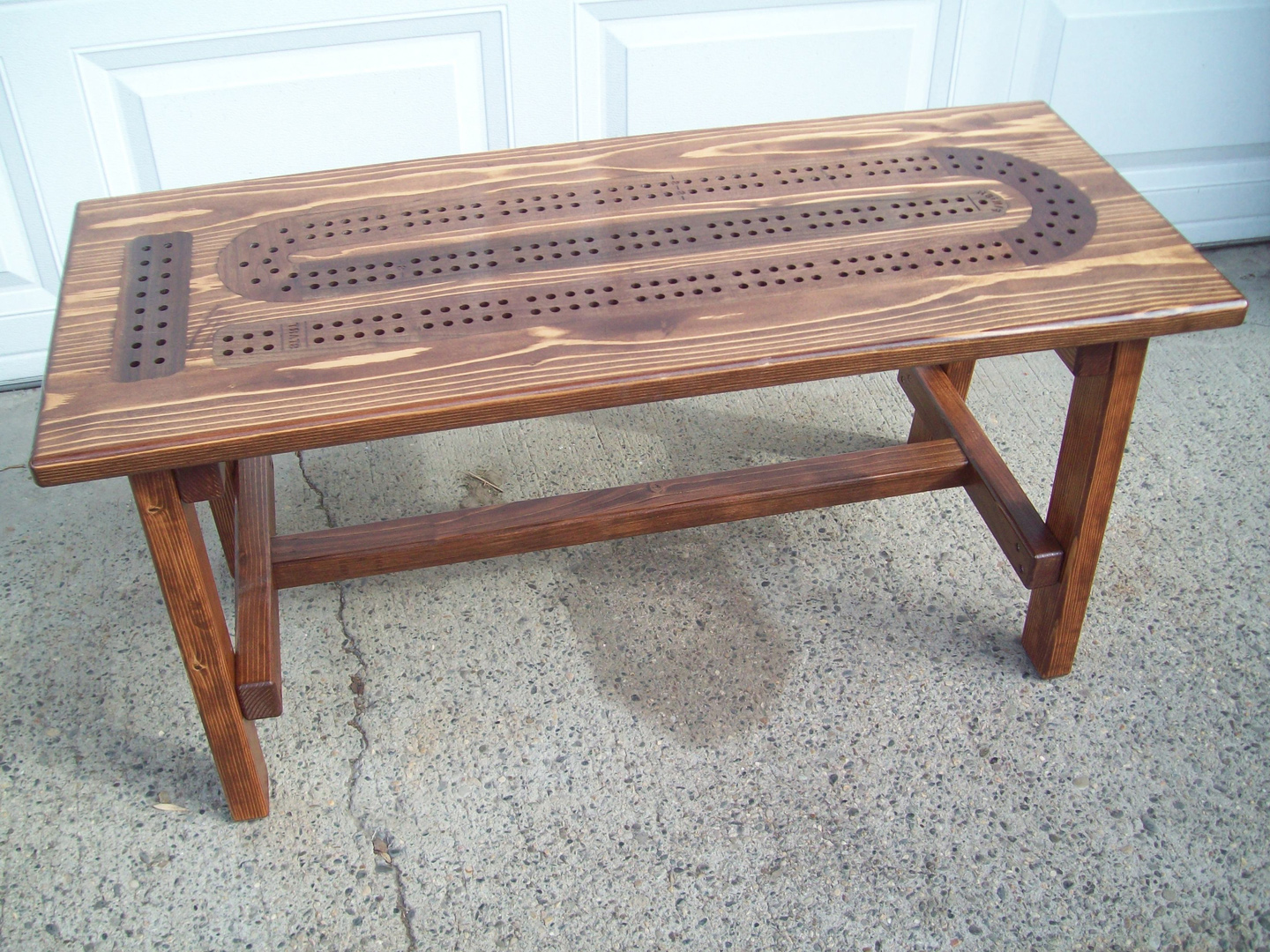 cribbage board coffee table 6