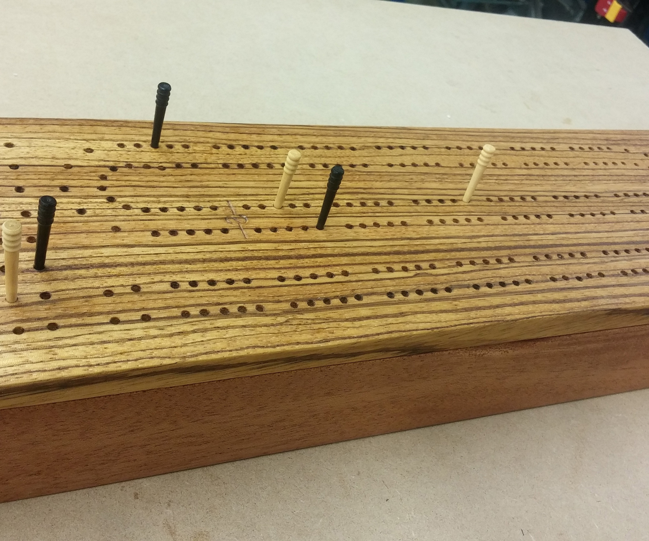 cribbage board coffee table 8