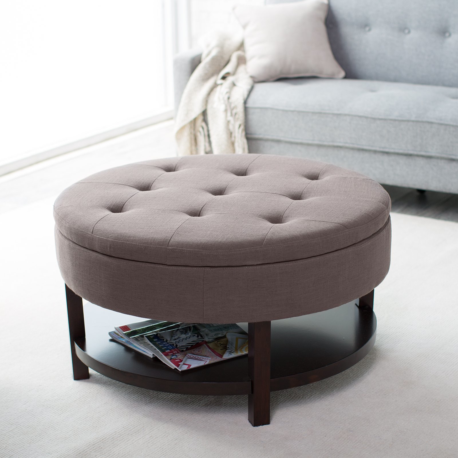 cushion coffee table with storage 13