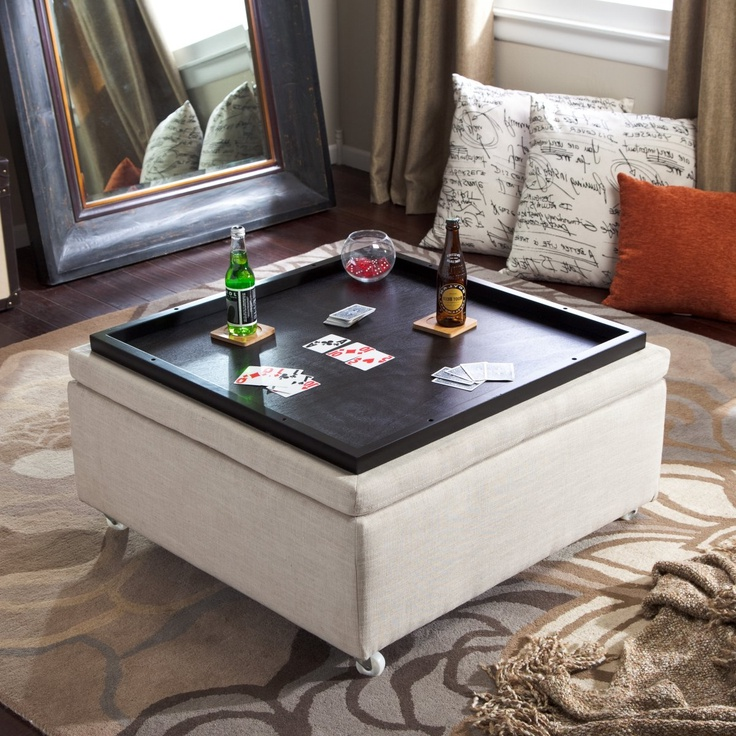cushion coffee table with storage 17