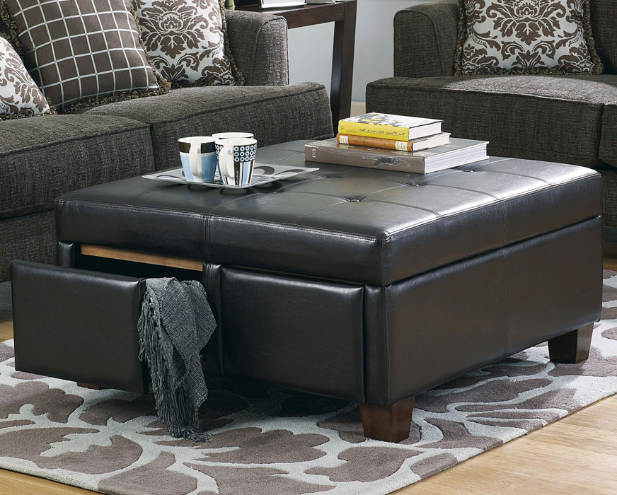 cushion coffee table with storage 18