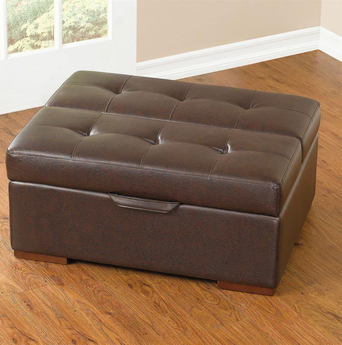 cushion coffee table with storage 24