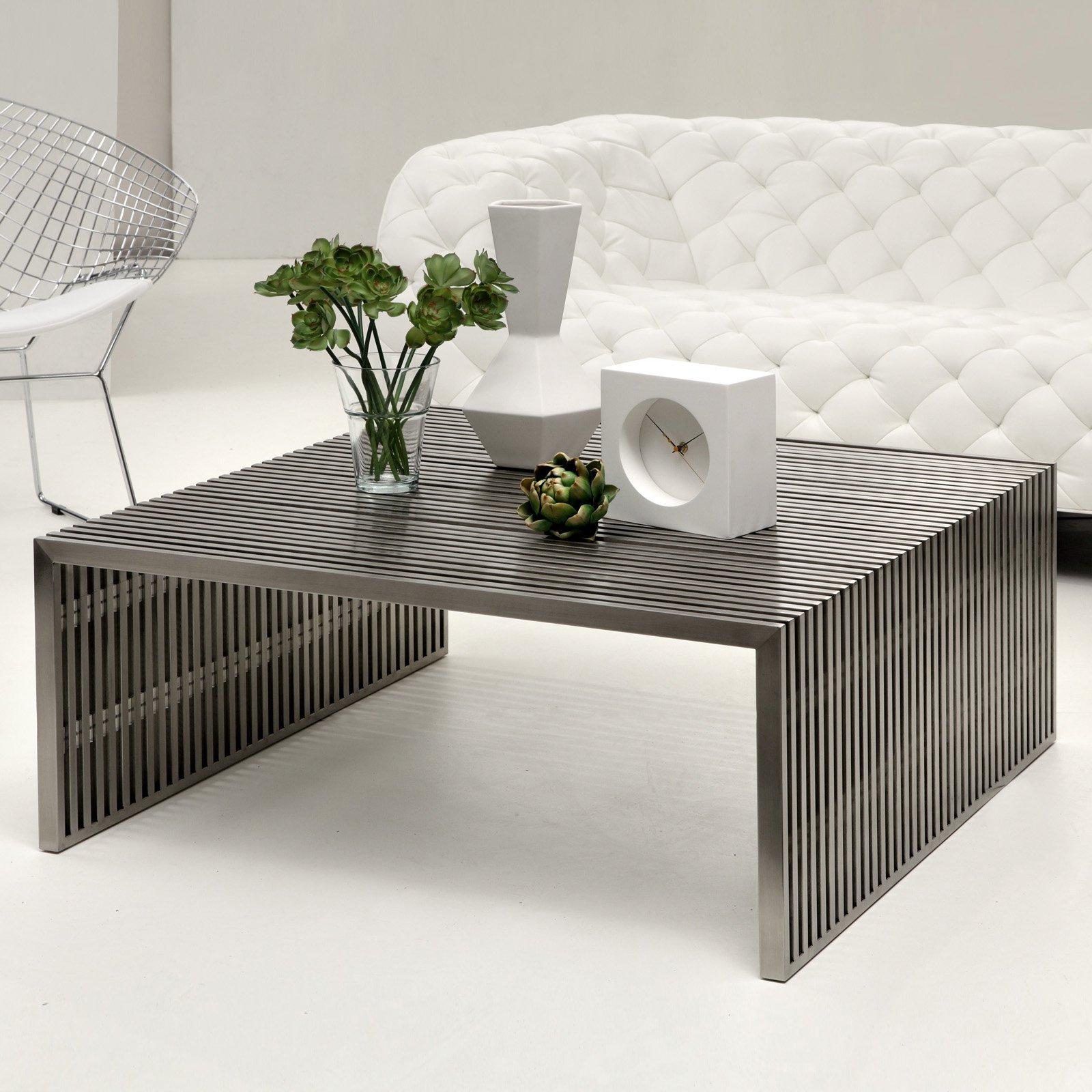 dark wood coffee table set 06