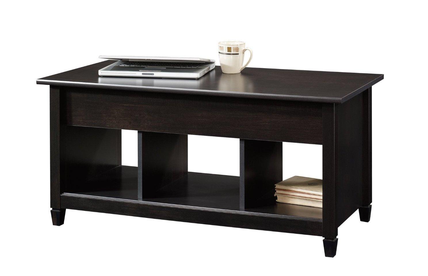 dark wood coffee table set 07