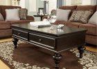 dark wood coffee table set 19