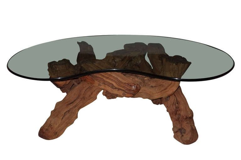 Driftwood coffee tables for sale roy home design for Driftwood tables handmade