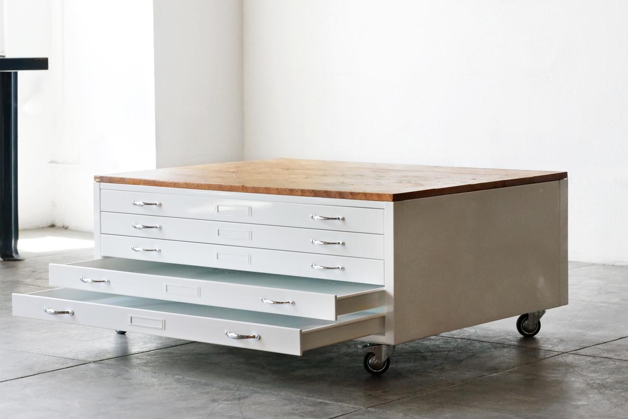 flat file coffee table 19