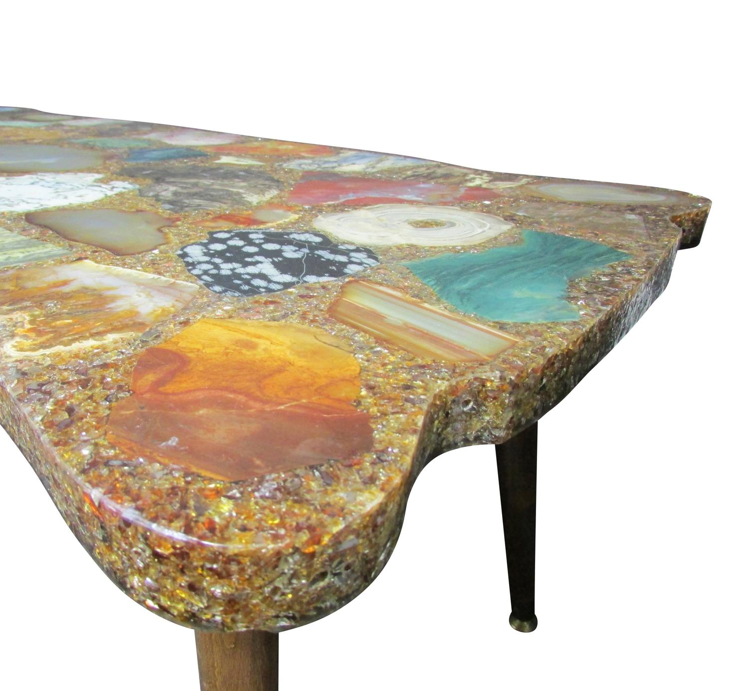 Geode Coffee Table for Modern Furniture