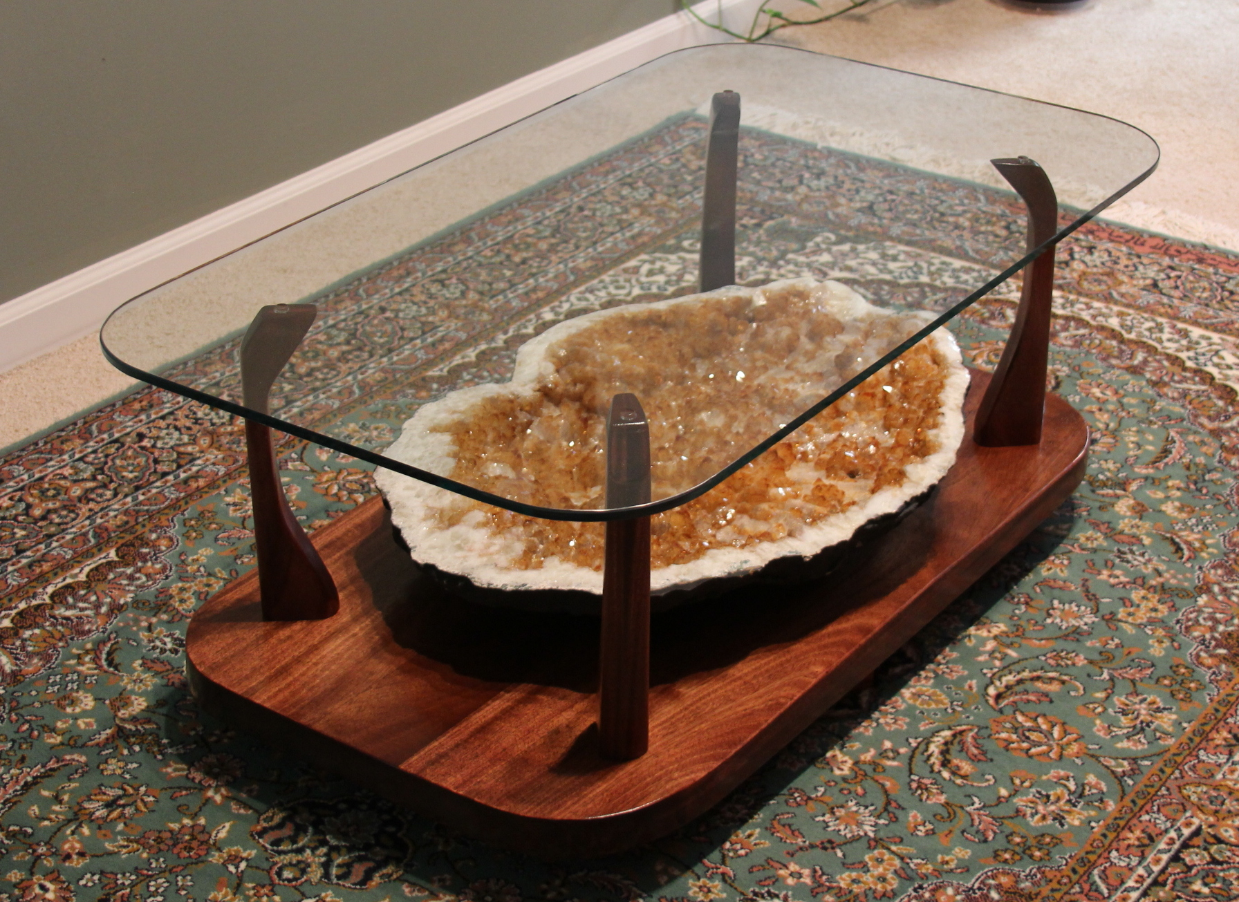 geode coffee table for modern furniture roy home design