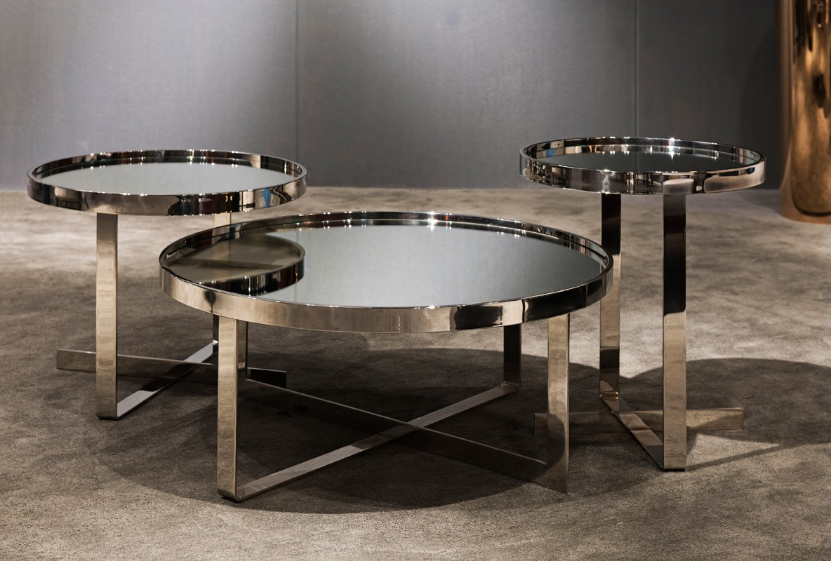 mirrored coffee table set 08