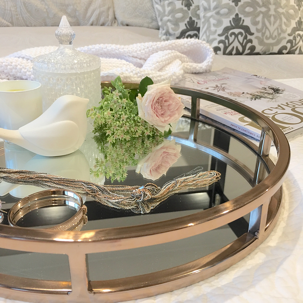 mirrored coffee table tray 19