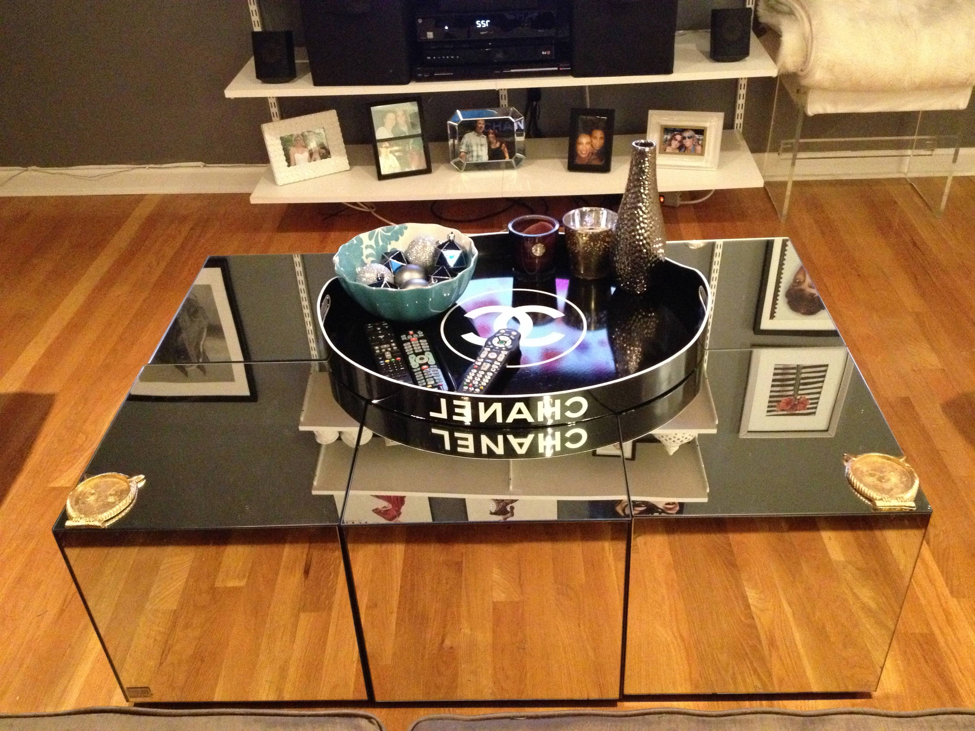 mirrored coffee table tray 21