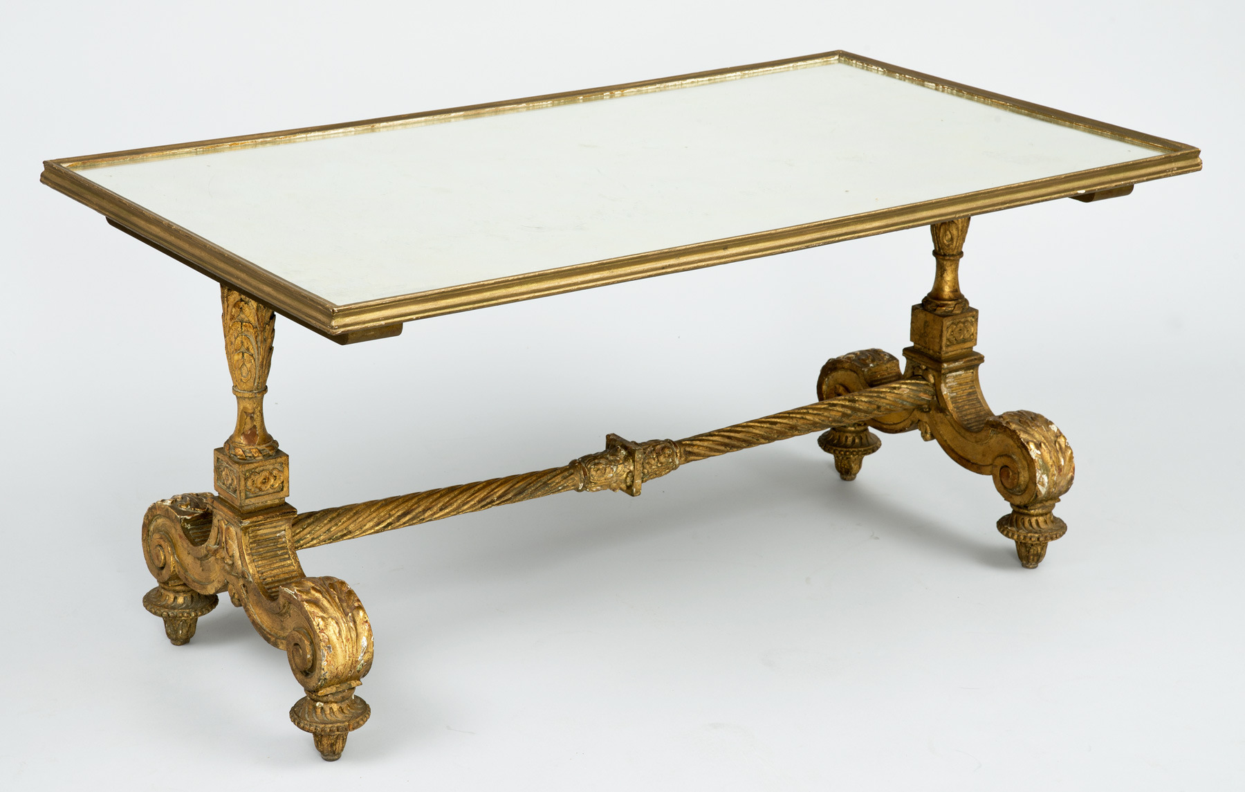 mirrored coffee table tray 8