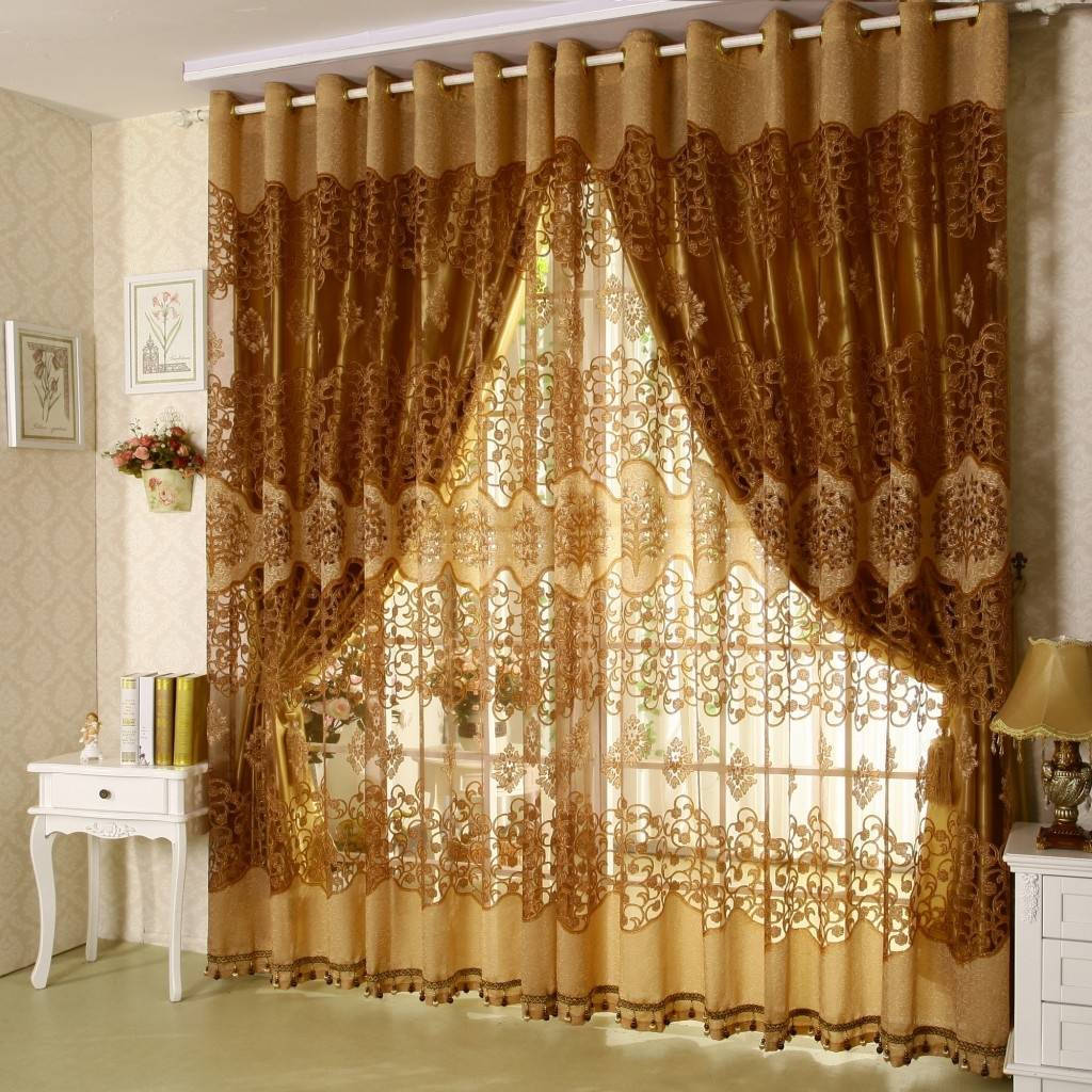 modern brown curtain pictures of living rooms